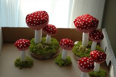Plush Mushroom group by h. donohue, via Flickr