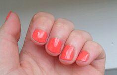 Nagellak van Essence! #essence #nagellak #koraal