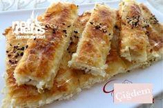 Baklavalık Yufkadan Peynirli Börek Tarifi