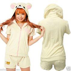 kawaii bear pajamas!