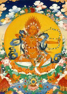 Tibet Thangka Painting Buddhist Goddess Kurukulla Luxury Background Silk for sale online Buddhist Wisdom, Tibetan Buddhism, Buddhist Art, Green Tara Mantra, Tantra Art, Tibet Art, Vajrayana Buddhism, Thangka Painting, Goddess Art
