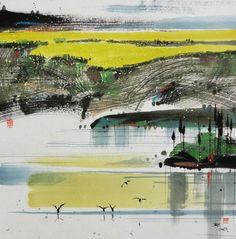 汪钰元,著名画家,擅彩墨、水彩画。