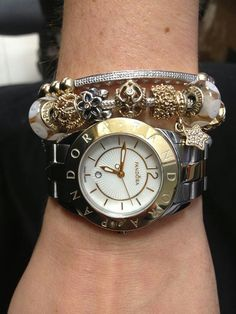 Two Tones Pandora Watch