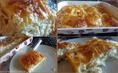 ΜΑΓΕΙΡΙΚΗ ΚΑΙ ΣΥΝΤΑΓΕΣ: Τυρόπιτα τσαλακωτή πανεύκολη -πεντανόστιμη του πεντάλεπτου!!! Greek Dishes, Greek Recipes, Lasagna, French Toast, Good Food, Food And Drink, Stuffed Peppers, Eat, Cooking