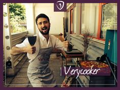 Voici Nicolas, notre Verycooker de la semaine qui nous donne faim avec ses légumes à la plancha !