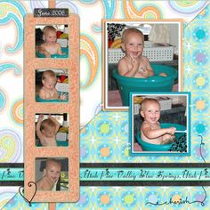 scrapbooking layouts fun in a tub digital scrapbooking layouts and ideas by vivayne
