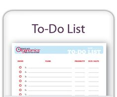 Don't forget this printable To Do list for organizing your summer party!  http://www.facebook.com/cluborganomics  http://www.twitter.com/smeadorganomics  http://www.youtube.com/smeadorganomics  http://Gplus.to/Smead  http://www.pinterest.com/smeadorganomics