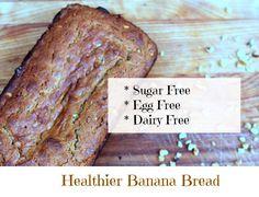 healthy banana bread recipe #sponsored