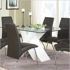 New Glass Table top Dinette Sets