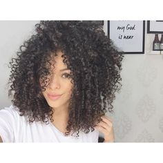 Afro Kinky Curly Full Head Lace Front Wigs 250 Percent High Density for African American Women Texturizer On Natural Hair, Natural Curls, Natural Hair Styles, Long Hair Styles, Haircuts For Curly Hair, Curled Hairstyles, Short Haircuts, Big Hair, Wavy Hair