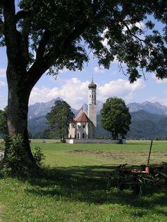 Wunderschöln - St. Coloman bei Schwangau http://www.bayern.by/bayern-sommer-das-original