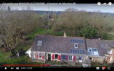 #maison  #autonome #écologie #indépendance #panneau #solaire #éolienne