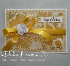Hilda Designs: TARJETA AMARILLA