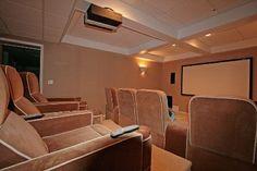 Town and Country Real Estate - Bridgehampton #TownandCountry #MovieTheater #Entertainment #Hamptons #HomeDecor