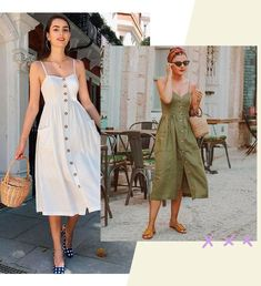 16 Ideas For Dress Casual Short Simple Summer Outfits Dress For Summer, Simple Summer Outfits, Spring Dresses Casual, Summer Dress Outfits, Trendy Dresses, Nice Dresses, Short Dresses, Fashion Dresses, Dress Casual