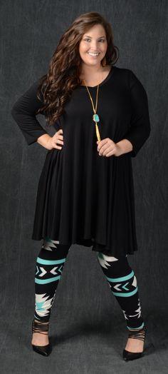Black Loose Fit Dress