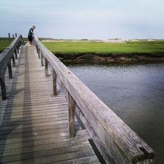 Boardwalk Beach on Cape Cod (Sandwich, MA)