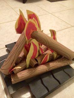Campfire  arts and crafts Fogata manualidades