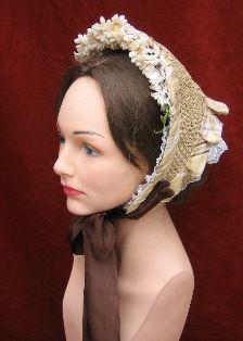 1850 s-1860 s-Straw Bonnets f9f467524