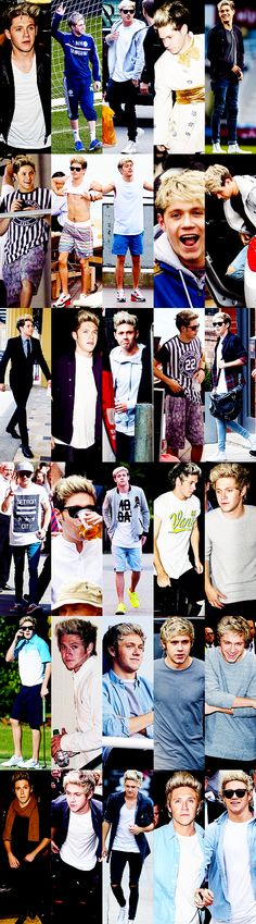 Niall Horan was on point all year // 2014