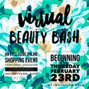 Friends, I am SO EXCITED to invite you to our Virtual Beauty Bash in 2 weeks!!! We're going to be sharing about our clinically proven products (giving some away for FREE) AND giving away DESIGNER LUXURY prizes!!!!  Think...👜👓🎧⌚️💻🙌🏼  BEST PART: IT'S FREE!!! I already bought tickets. You can watch from anywhere you are. Wear whatever you want, while drinking whatever you want! It's gonna be a super short, yet informative event that will give you the 411 on our regimens, and favorite…