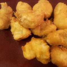 B&B: Chinese Chicken Batter (so yummy!!! crispy) 1 cup flour 1 tbspoon baking powder 1/2 c water