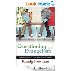 Free today only Sept.8/14 A much-needed look at sharing Christ with unbelievers, based not on the techniques of guerrilla hard-sell tactics, but on engaging questions and caring interaction. Filled with humor and stories, this book provides a challenging yet encouraging look at evangelism in our world today. This volume argues that asking questions and starting meaningful conversations is a far better method for sharing faith than prepared lectures or statements.