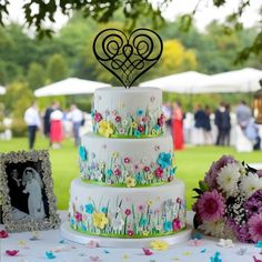 Best Day Ever Celtic Knot Cake Topper, Celtic Cake Topper, Wedding Cake Topper, Irish Cake Topper, Lord of the Rings Cake Topper Heart Wedding Cakes, Cool Wedding Cakes, Wedding Cupcakes, Wedding Cake Toppers, Celtic Wedding, Irish Wedding, Bithday Cake, Luxury Cake, Cupcake Picks