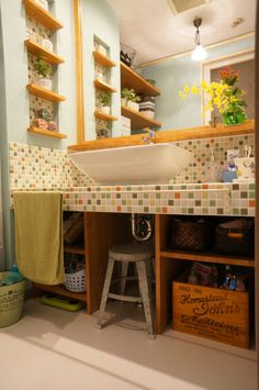 Lovely Rustic Bathroom