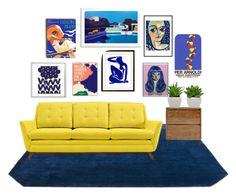 """Sin título #36"" by narel131 on Polyvore featuring interior, interiors, interior design, hogar, home decor, interior decorating, Kate Spade, Empire Art Direct, ArteHouse y &Tradition"