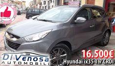 Hyundai Ix35 1.7 CRDI Da Di Venosa Automobili http://affariok.blogspot.it/2016/07/hyundai-ix35-17-crdi-da-di-venosa.html