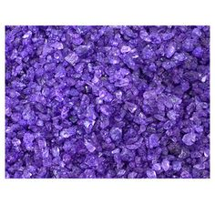 Purple Grape Rock Candy Crystals: 5LB Bag