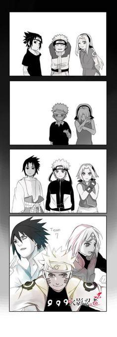 Naruto + Sasuke + Sakura