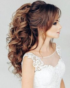 91+ Beautiful Wedding Hairstyles for Brides in 2018