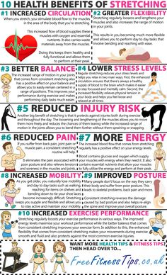10 Health Benefits Of Stretching