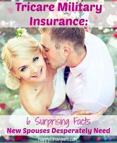 """""""Tricare Military Insurance: 6 Surprising Facts New Spouses Desperately Need"""" Great tips! I wish I knew these when I first got married!"""