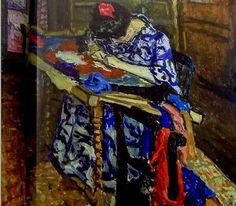 Femme à la tapisserie (Mme Matisse)
