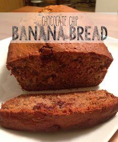 Auteur Ariel: Chocolate Chip Banana Bread + Link Up!