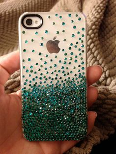 custom crystalized cell phone case by cbohe on Etsy, $95.00