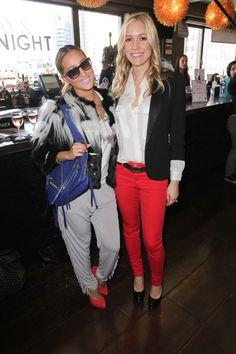 Pregnant Kristin Cavallari, Ashanti spotted at The Daily Style Sessions