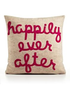 Happily ever after....