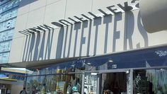 Urban Outfitters Solar Shadow Signage