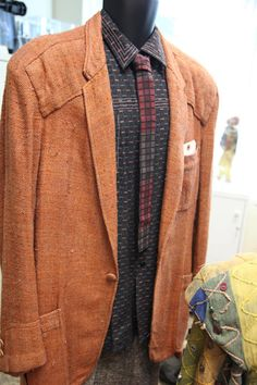 "Blade Runner - Harrison Ford ""Deckard"" blazer, shirt and tie, screen used"