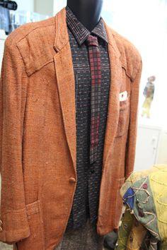 "Blade Runner - Harrison Ford ""Deckard"" blazer, shirt and tie, screen used"