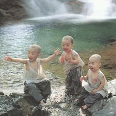 Child Monks @ Play