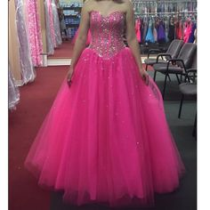 Pink Quinceanera Dress Prom Dresses Sweet 16 Dress pst0738