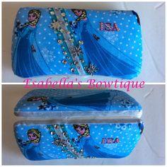 Frozen Elsa travel wipe case by EsabellasBowtique on Etsy
