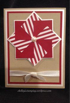 Pinwheel Christmas, card only.