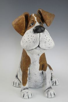 Patches by Kathleen Kelly Paper Mache 2019 Patches by Kathleen Kelly Paper Mache The post Patches by Kathleen Kelly Paper Mache 2019 appeared first on Paper ideas. Paper Mache Clay, Paper Mache Sculpture, Dog Sculpture, Pottery Sculpture, Animal Sculptures, Clay Art, Pottery Animals, Ceramic Animals, Clay Animals