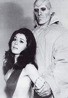 Ted Cassidy and Sherry Jackson in Star Trek Ted Cassidy, Sherry Jackson, Star Trek 1966, Sci Fi, The Originals, Stars, Women, Tv, Movies